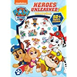 PAW Patrol Heroes Unleashed Colouring Book with Puffy Stickers