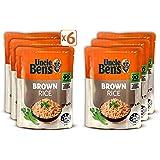 Uncle Ben's Brown Rice, 6 x 250g