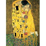 """PalaceLearning The Kiss by Gustav Klimt - 18"""" x 24"""" Laminated Poster - Classic Fine Art Print, Laminated, 18"""" x 24"""""""