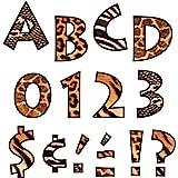 """Trend Enterprises Animal Prints Venture Ready Letters, 4"""" (T-79248)"""