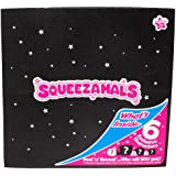 Squeezamals Mystery Black Box Collector Pack, 6 Exclusive Characters