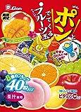 ライオン菓子 ポンとでてくるフルーツ玉キャンディー 140g×6袋