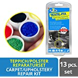 ATG Fabric Upholstery Repair Kit | Carpet Repair Kit | Furniture Repair Kit - Fixes Abraisions, Scuffs and Holes