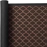 Color&Geometry Outdoor Door Mat 17X29 Rubber Mats, Low-Profile Doormat, Indoor Outdoor, Waterproof, Heavy Duty Mat for Floor,