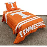 College Covers Tennessee Volunteers Comforter Set, Queen, Team Color
