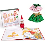The Elf on the Shelf - Girl Elf Edition with North Pole Blue Eyed Girl Elf , Bonus Pair of Party Skirts, and Girl-Character T