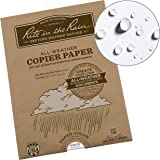 "Rite in the Rain Weatherproof Laser Printer Paper, 8.5"" x 11"", 20# White, 50 Sheet Pack (No. 8511-50)"