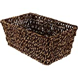 Hoffmaster BSK2151A Seagrass Basket, fits Folded Guest Towels 4-1/2 inches by 8-1/2 inches, Actual Basket Size 10 inches Long