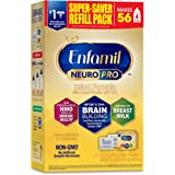 Enfamil NeuroPro Baby Formula, Brain and Immune Support with DHA, Iron and Prebiotics, Infant formula inspired by Breast Milk