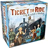 Days of Wonder Ticket to Ride Rails & Sails Strategy Game, Multi-colored, Standard