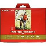 CanonInk 1432C007 Photo Paper Plus Glossy II 4 x 6 (400 Sheets)