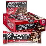 BSN Syntha-6 Protein Crisp Bar, Chocolate Crunch, 12 Count