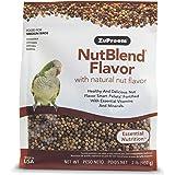 ZuPreem NutBlend Smart Pellets Bird Food for Medium Birds, 2 lb Bag - Made in The USA, Daily Nutrition, Essential Vitamins, M