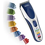 Wahl Clipper Color Pro Cordless Rechargeable Hair Clippers Hair Trimmers 21 Pieces Hair Cutting Kit Color Coded Guide Combs f