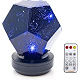 Galaxy Star LED Night Light Projector Bluetooth Music Player Rotating 3 Colours Adjustable Lights USB Cable Rechargeable Remo