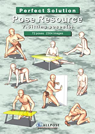 Pose Resource 7 Sitting b