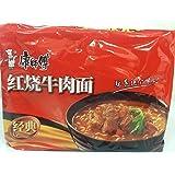 康師傅経典紅焼牛肉麺(インスタント麺)5食入