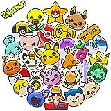 Pokemon Stickers for Laptop, Water Bottle, Phone Case, Computer | Premium Vinyl Big Durable Waterproof | Funny Cute Cool Cart