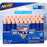 Hasbro A0351 NERF Elite- 30 Pack official Darts- Compatible with Fortnite blasters- Scar AR-L, Supressed Pistol SP-L- Elite I