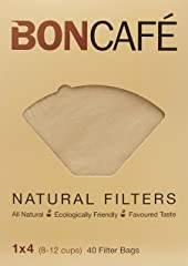 Boncafe Filterbags Natural, 1X4, 40 Count