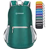 ZOMAKE Ultra Lightweight Packable Backpack Water Resistant Hiking Daypack,Small Backpack Handy Foldable Travel Outdoor Backpa