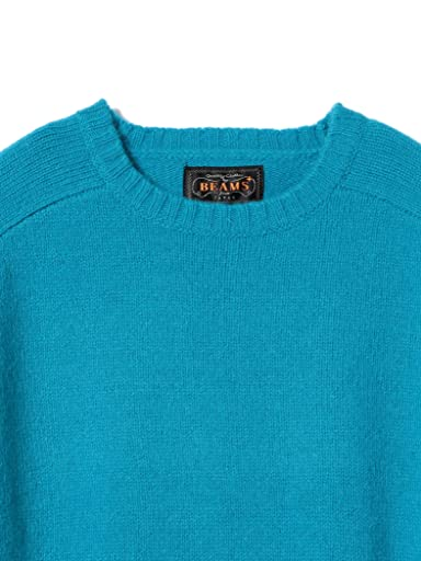 5 Gauge Wool Crewneck Sweater 11-15-0879-103: Turquoise