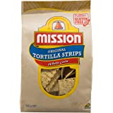 Mission Tortilla Chips, White Corn, 230g