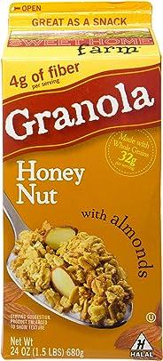 Sweet Home Farm Granola - Honey Nut with Almonds, 682g