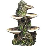 "Pen-Plax RR1007 Mushrooms on Rock Aquarium Ornament, Medium/5.5"" x 4"" x 7.5"""