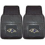 FANMATS NFL Baltimore Ravens Vinyl Heavy Duty Car Mat