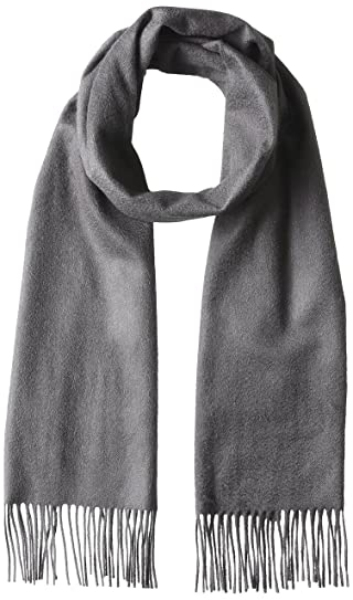 Cashmere Scarf 1336-343-3158: Grey