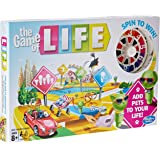 The Game of Life - Add pets to your life - spin to win - 2 to 4 Players - Family Board Games - Ages 8+
