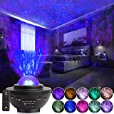 Galaxy Projector with Remote Control, 3 in 1 Night Light Projector and LED Nebula/Mobile Wave Projector, Suitable for Childre