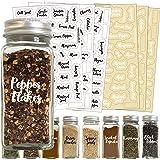 Spice Label Sets 212 Cursive Spice Combo Black/White