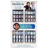Townley Girl Disney Frozen II 48 Pcs Press- On Nails Set, Ages 6+