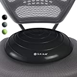 Gaiam Balance Disc Wobble Cushion Stability Core Trainer for Home or Office Desk Chair & Kids Alternative Classroom Sensory W