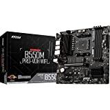 MSI B550M PRO-VDH WIFI ProSeries Motherboard (AMD AM4, DDR4, PCIe 4.0, SATA 6Gb/s, M.2, USB 3.2 Gen 1, Wi-Fi, D-SUB/HDMI/DP,