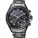 [シチズン] 腕時計 アテッサ CC4004-58E F950 Eco-Drive エコ・ドライブGPS衛星電波時計 ブラックチタンシリーズ ダブルダイレクトフライト メンズ ブラック