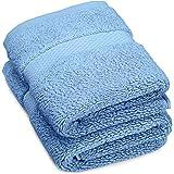 Pinzon Luxury 820-Gram Cotton Towels, 100% Cotton Cotton Terrycloth, Marine, Washcloth