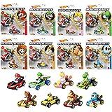ホットウィール(Hot Wheels) マリオカート アソートMix4 【ミニカー8台セット BOX販売】 987N-GBG25