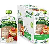 Sprout Organic Stage 4 Toddler Food Power Pak Pouches, Strawberry w/ Superblend Banana & Butternut Squash, 4 Ounce (Pack of 1