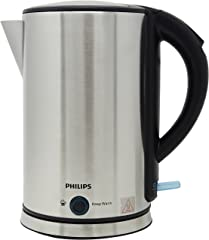 Philips HD9316/03 Viva Collection Kettle with Keep Warm Function, 1.7 L, 1800 W - Stainless Steel