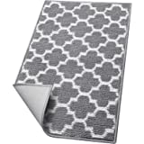 """WISELIFE Weave Door mat,20""""x32"""",Grey"""