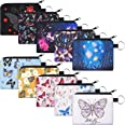 10 Pieces Small Coin Purse Boho Change Purse Pouch Mini Wallet Coin Bag with Zipper Exquisite Present for Women Girls on Vale