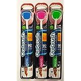 3 Pack Orabrush Tongue Cleaner Scraper