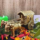 Aakrati Brass Made Bullock Cart