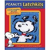 Latchkits Peanuts Snoopy The Classic Latch Hook Craft Kit!
