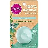 EOS Organic Lip Balm 0.25 Ounce Sweet Mint Sphere