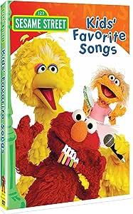 Sesame Street - Kids Favorite Songs [DVD] [Import]