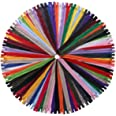 YAKA 60 Pack of 14 inch Mix Nylon Coil Zippers Bulk - Supplies Zippers for Tailor Sewing Crafts (20 Color) (14 inch-Pack of 6